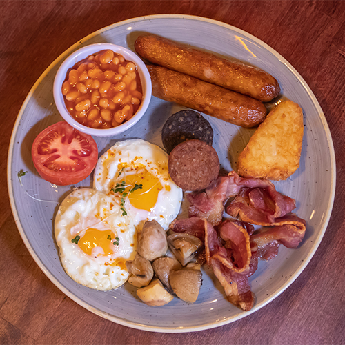 Full Irish Breakfast served in Murphy's Bistro Cafe
